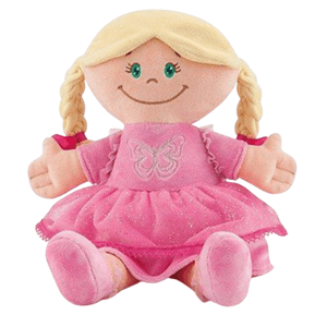 TRUDI Plyšová bábika Blondka