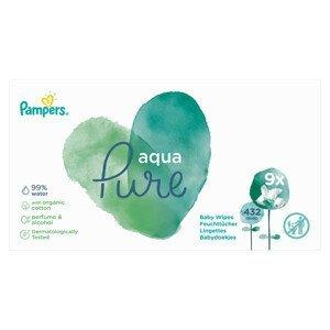 Pampers Wipes Aqua Pure 9x48ks (432ks)