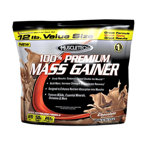 Muscletech 100% Premium Mass Gainer 5440 g chocolate