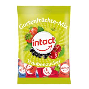 Intact hroznový cukor záhradná zmes 100g