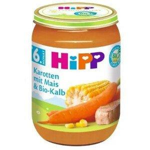 HiPP Príkrm BIO Mrkva s kukuricou a teľacím mäsom 190g