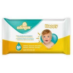 Alinan Happy detské vlhčené obrúsky 56ks