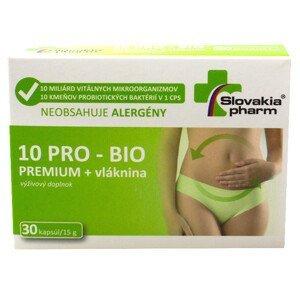 Slovakiapharm 10 PRO - BIO Premium + vláknina 30 kapsúl