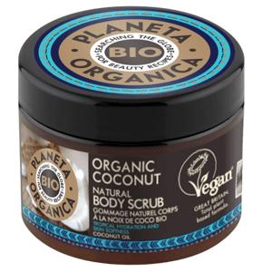 Planeta Organica Telový peeling Kokosový orech 300ml