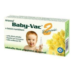 Arianna Baby-Vac 2 - odsávačka hlienov na vysávač s čistiacou kefkou 1ks