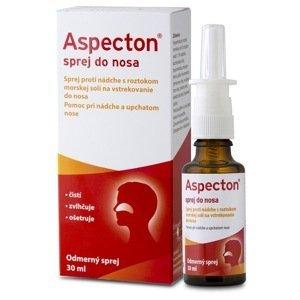 Aspecton sprej do nosa s éterickými olejmi a dexpantenolom 30 ml