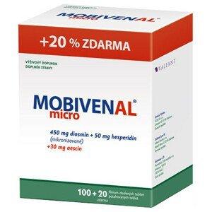 MOBIVENAL micro 100+20tbl zadarmo