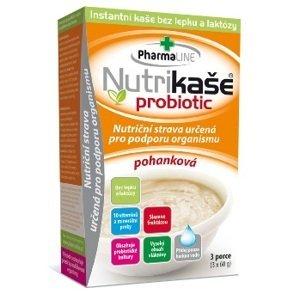 Nutrikaša probiotic - pohanková 3x60 g