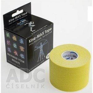 Kine-MAX Classic Kinesiology Tape KinesioMAX tejpovacia páska žltá 5cm x 5m