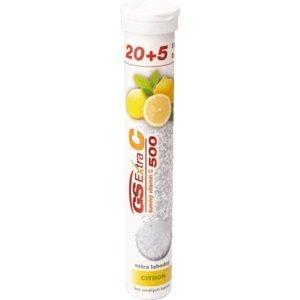 GS Extra C 500 šumivý citrón tbl eff 20+5 navyše