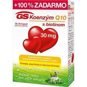 GS Koenzým Q10 30 mg cps 30+30 zadarmo