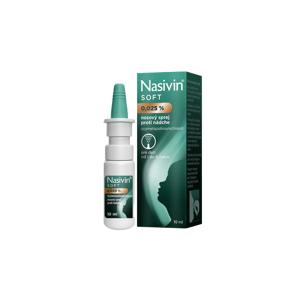 Nasivin SOFT nosový sprej 0,025% 10 ml