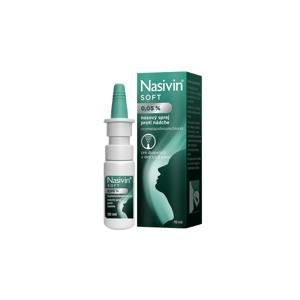 Nasivin SOFT nosový sprej 0,05% 10 ml