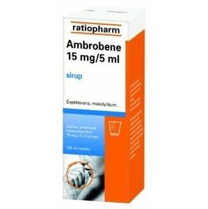 Ambrobene 15 mg/5 ml sirup 300 mg/100ml