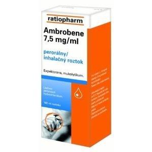 Ambrobene 7 5 mg/ml roztok 750 mg/100ml