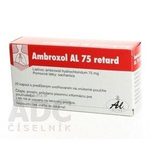 Ambroxol AL 75 retard cps plg 75 mg 20 ks