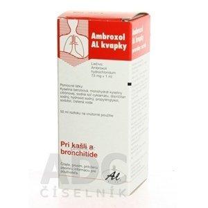 Ambroxol AL kvapky gtt por 50 ml