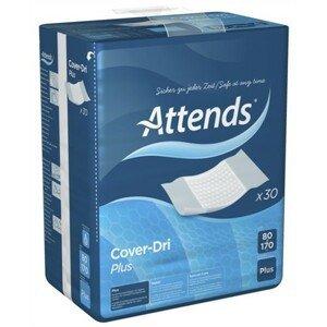 ATTENDS Cover-Dri Plus podložka inkontinenčná, savosť 1935 ml, veľkosť 80x170 cm, 30 ks