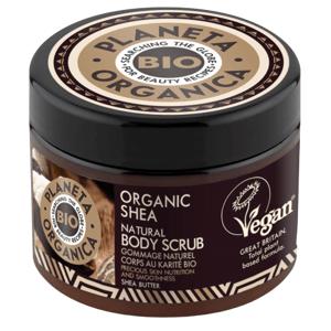 Planeta Organica Telový peeling Bambucké maslo 300ml