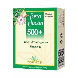 NATURES Betaglucan 500+ 30 cps