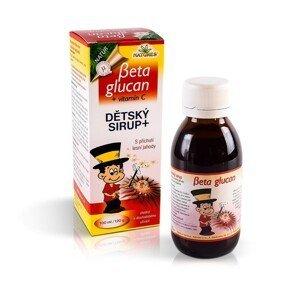 NATURES BETA GLUCAN DETSKÝ sirup+VITAMÍN C sirup.ovocný 130 g