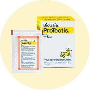 BioGaia ProTectis Plus prášok na perorálny rehydratačný roztok 7 ks