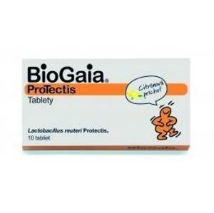 BioGaia ProTectis žuvacie tablety citrónová príchuť 10 ks