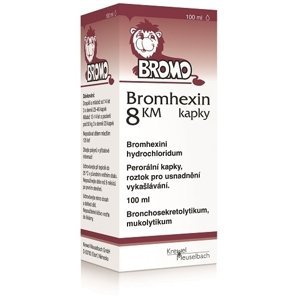 BROMHEXIN 8-Kvapky KM sol por 100 ml