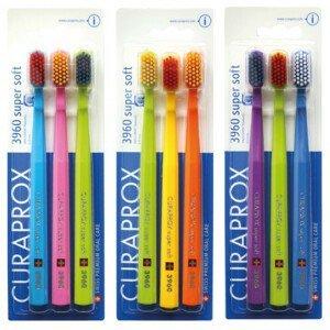 CURAPROX CS 3960 Super Soft zubná kefka 3ks