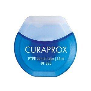 CURAPROX DF 820 PTFE zubná niť s chlorhexidínom, 35 m, Gleit
