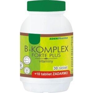 EDENPharma B-KOMPLEX forte plus tbl 30+10 zadarmo
