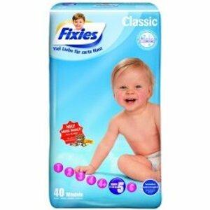 Fixies CLASSIC JUNIOR detské plienky 11-25 kg, 40 ks