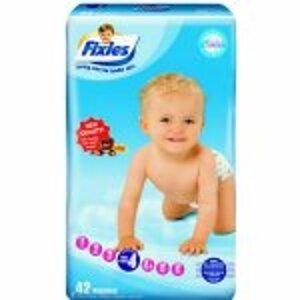 Fixies CLASSIC MAXI detské plienky 7-18 kg, 48 ks