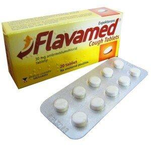 Flavamed Cough Tablets tbl 30 mg 20 ks
