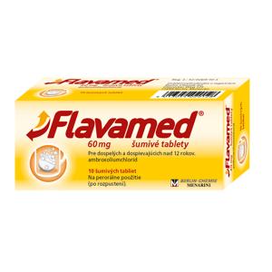 Flavamed šumivé tablety tbl eff 60 mg 10 ks