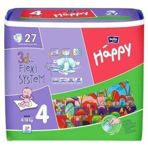 BELLA BABY HAPPY MAXI 8-18KG detské plienky 27 ks