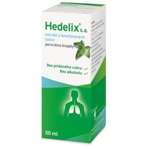 HEDELIX S.A. perorálne kvapky 50 ml