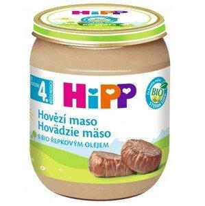 HiPP Príkrm BIO Hovädzie mäso - pyré mäso125 g