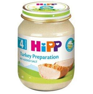 HiPP Príkrm BIO Morčacie mäso - pyré mäso125 g