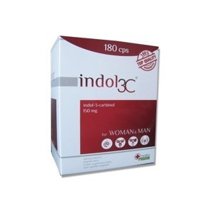 INDOL3C cps trojmesačná kúra 180 ks