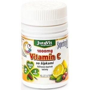 JutaVit Vitamín C 1000 mg so šípkami 30 tbl