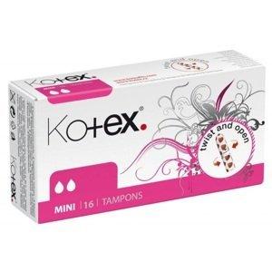 KOTEX Tampons Mini hygienické tampóny 16ks