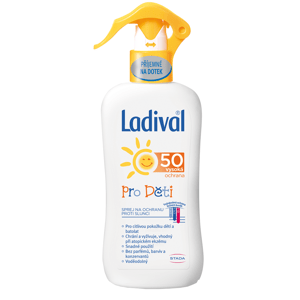 LADIVAL Children SPREJ SPF 50 na ochranu proti slnku pre deti 200ml