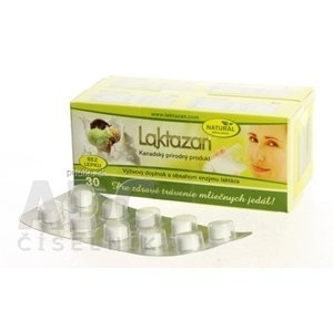 LAKTAZAN tablety tbl s príchuťou mäty 60 ks