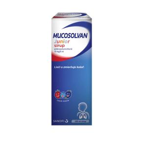Mucosolvan® Junior sirup 15mg/5ml 100ml