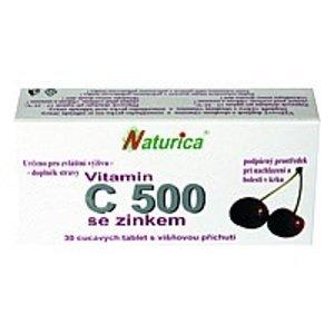 Naturica VITAMÍN C 500 mg so zinkom 30 tbl