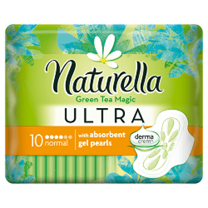 Naturella GREEN TEA Ultra Normal hygienické vložky 10 ks