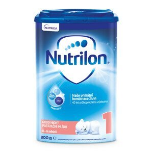 Nutrilon 1 Pronutra Good Sleep mliečna výživa v prášku na dobrú noc 1x800g