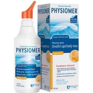 PHYSIOMER nosový sprej Hypertonický s obsahom morskej vody 135ml