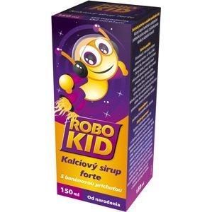 RoboKid Kalciový sirup forte s banánovou príchuťou od narodenia 150 ml